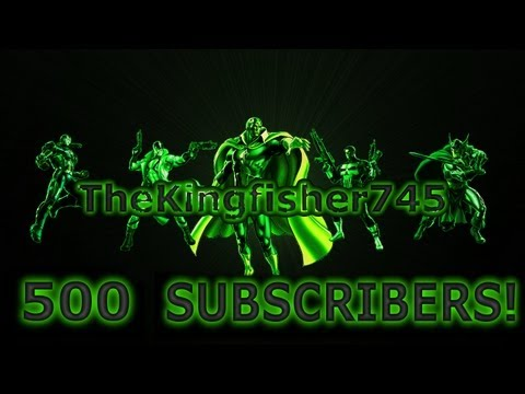 Thank You for 500 Subscribers! (Marvel Avengers Alliance PVP Armory/Hero Bonus Video)