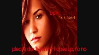 Demi Lovato - Fix a Heart (Lyrics/NO PITCH) + Download Link