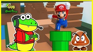 ROBLOX Let's Play Mario Obby with Gus!