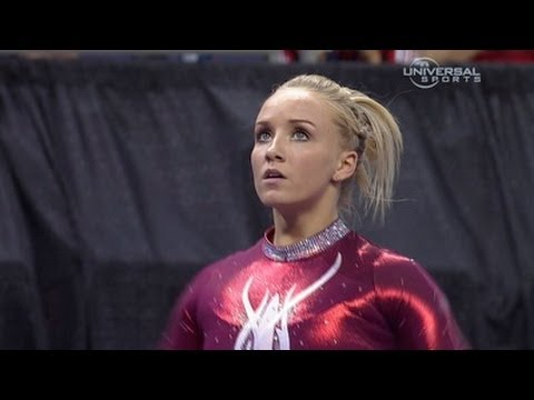 Nastia Liukin night 2 routines at 2012 Visa Championships