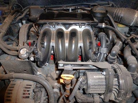 Как заменить масло в двигателе октавия