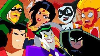 🔴Justice League Action em Português 🇧🇷  DC Kids
