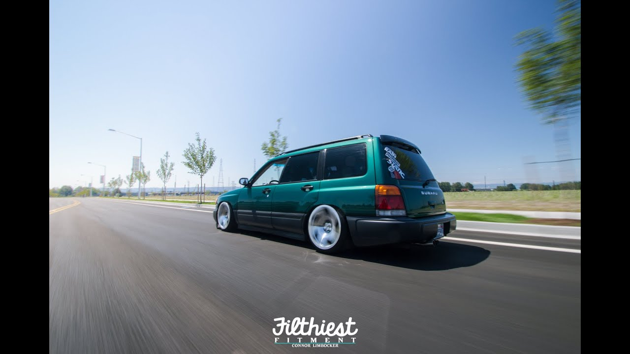 Robbie ericksons stanced forester on wci 39 s filthiest fitment youtube