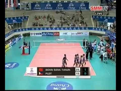 18.04.2014 - Tianjin Bohai Bank [CHN] vs PLDT HOME TVolution [PHI]