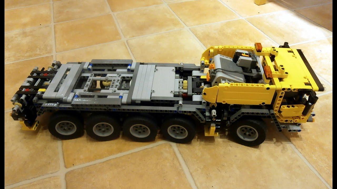 lego technic 42009 how to motorize crane mk ii youtube. Black Bedroom Furniture Sets. Home Design Ideas