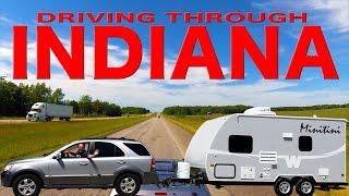 Driving Through Indiana | Traveling Robert