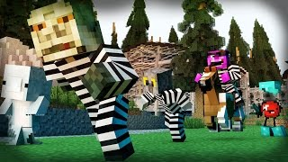 Minecraft Mini-Game: COPS N ROBBERS! (THE EVIL APPLE?!) /w Facecam