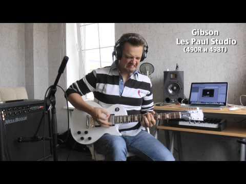 Пушной - ВТОРОЙ тест гитар Gibson (analog sound)