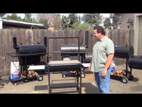KAT BBQ Smokers Santa Maria Grill