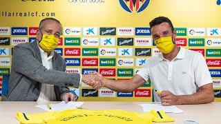 Roberto Bautista lucira el Escudo del Villarreal CF