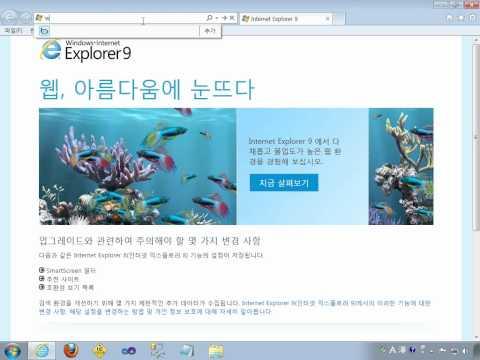 인터넷 익스플로러 9 RC 설치 및 이벤트 참여(Internet Explorer 9 RC Install)