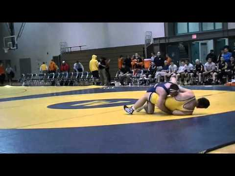 Gettysburg Wrestling Highlights at Wilkes Quad