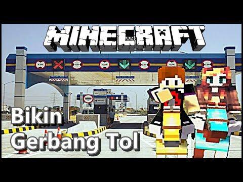 Bikin Pintu TOL 😂 | Build Battle Minecraft Indonesia | Creative mode