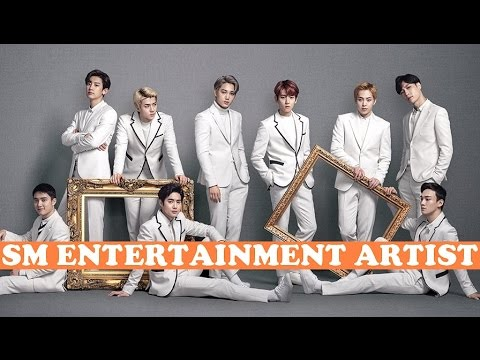 SM Family Artist Under SM Entertainment