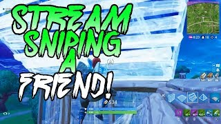 Stream sniping the same player three times in one day...