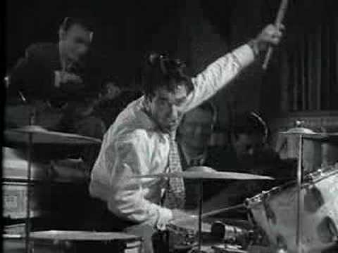 Gene Krupa having A good time