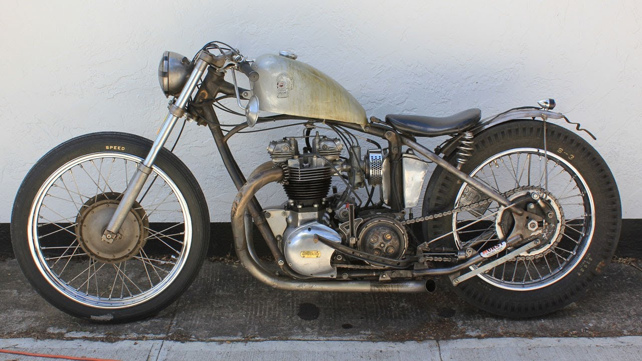 1961 Triumph TR6 Drag Racer Motorcycle: The Cockfighter ...