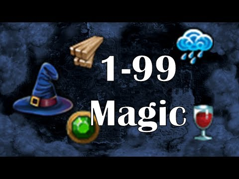 1-99 Magic Guide Runescape -1088k Gp/h, 526k at lvl 27 No Req- by Idk Whats Rc