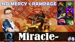Miracle - Gyrocopter Safelane | NO MERCY + RAMPAGE | Dota 2 Pro MMR Gameplay #8