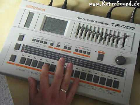 Roland TR-707 Rhythm Composer