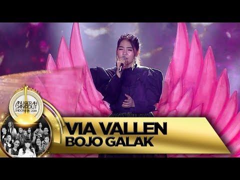 BOJO GALAK Via Vallen Buat Orang Jadi Pengen Goyang - Anugerah Dangdut Indonesia 2018 (16/11)