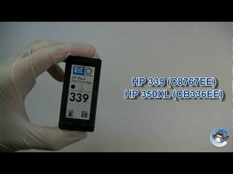 How to Refill HP 339 & HP 350XL Black Ink Cartridge