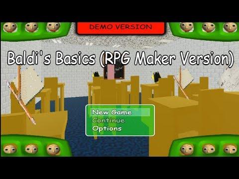 Baldis Basics in Education and Learning RPG Maker Edition Demo Good Ending