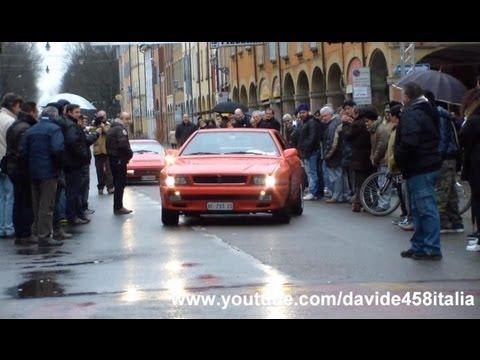 CRAZY!! Maserati Ghibli Biturbo LAUNCH scares the crowd!!