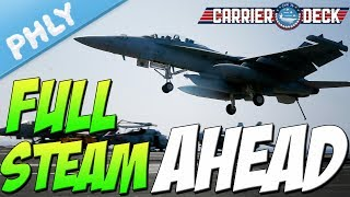 Carrier Deck  -MORE JETS MORE PROBLEMS (Carrier Deck Gameplay)
