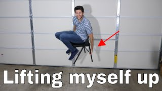 Is It Actually Possible to Lift Yourself Up? Home Levitation Experiment