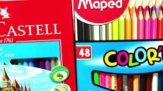QUAL LÁPIS DE COR COMPRAR? Faber-Castell X Maped