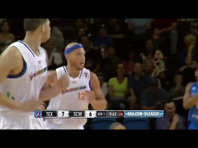 Highlights: Taylor Griffin (24 points) vs. the Legends, 3/29/2015