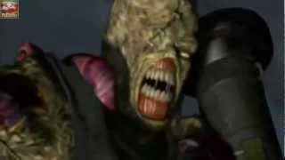 Resident Evil 3:Nemesis As Cutscenes Em HD