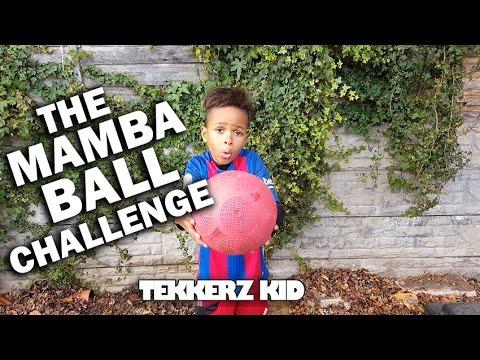 FINALLY THE MAMBA BALL CHALLENGE!! | Kids Soccer Skills!