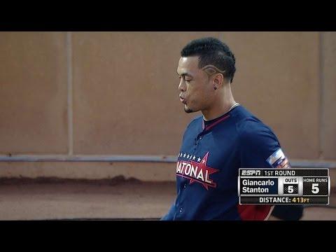 Stanton hits six, including 510-foot blast
