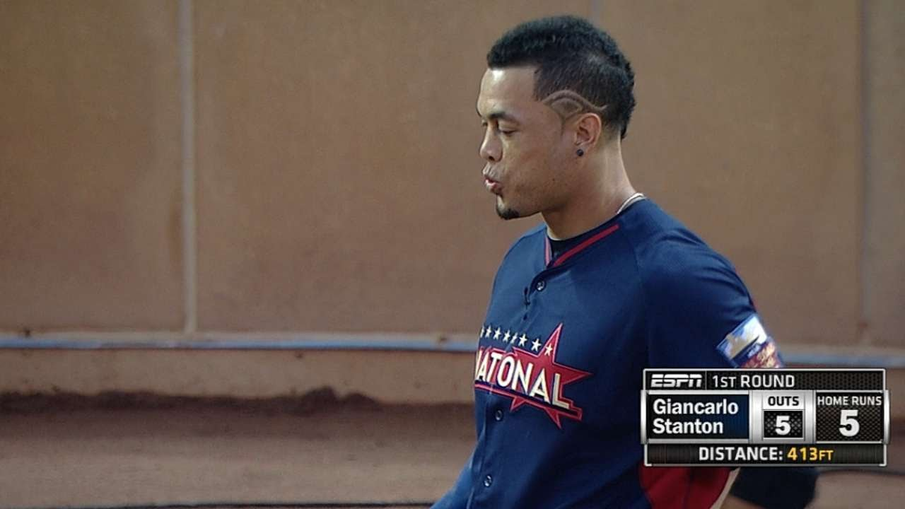 Stanton Hits Six Including 510 Foot Blast YouTube