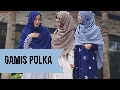 Cantiknya Gamis Polka By Hijab Alila