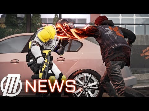 inFAMOUS: Second Son PS4 GAMEPLAY POWERS UPDATE inFAMOUS 3 Intro Detailed