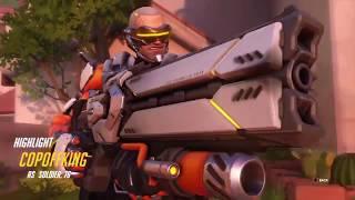 Overwatch soldier 76 custom game highlights