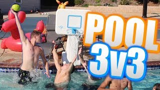INTENSE 2HYPE 3v3 POOL BASKETBALL!
