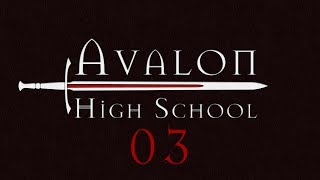 Avalon High School Roll4It #03 THE VAULT AND THE WELL - Arthurian Legend Monsterhearts