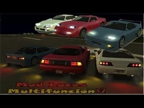 GTA San Andreas - Descargar e instalar el Mod Luces Multifunción v2