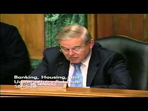 Sen. Menendez Talks Sandy Flood Insurance Claims Process