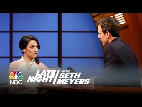 Jenny Slate Confused Astronomy and Astrology in College - Late Night with Seth Meyers
