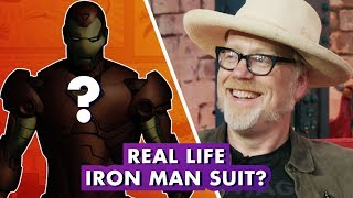 Adam Savage Makes REAL Iron Man Armor | Earth's Mightiest Show
