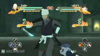 Naruto Shippuden Ultimate Ninja Storm 3 Gamescom 2012 Mifune vs Sasuke [HD]