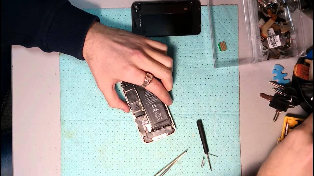 айфон 4 s плохо ловит сеть что может быть
