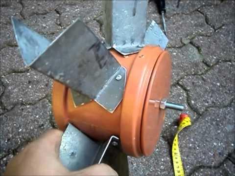 Bau Einer Kleinen Schleiftrommel Poliertrommel Kugelmühle Mit Wasserantrieb Für Den Gartenteich