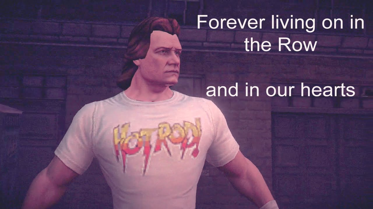 Roddy Piper Saints Row Roddy Piper Tribute Saints