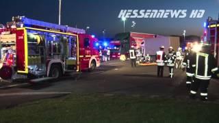 Schwerer LKW Unfall in Baunatal 20.04.2016